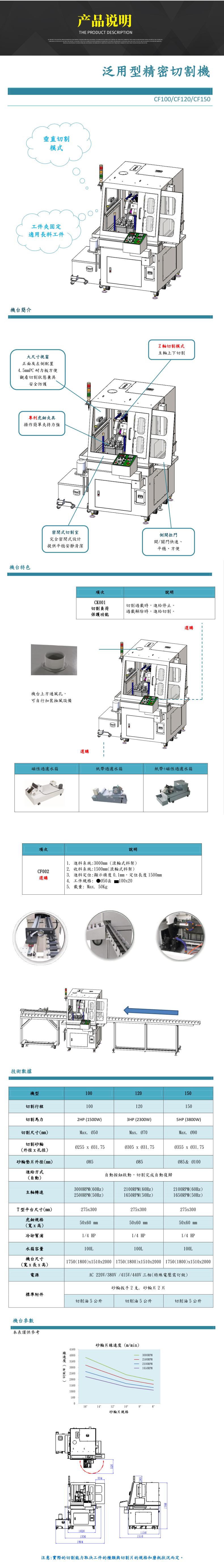 CF系列精密金相切割机产品说明