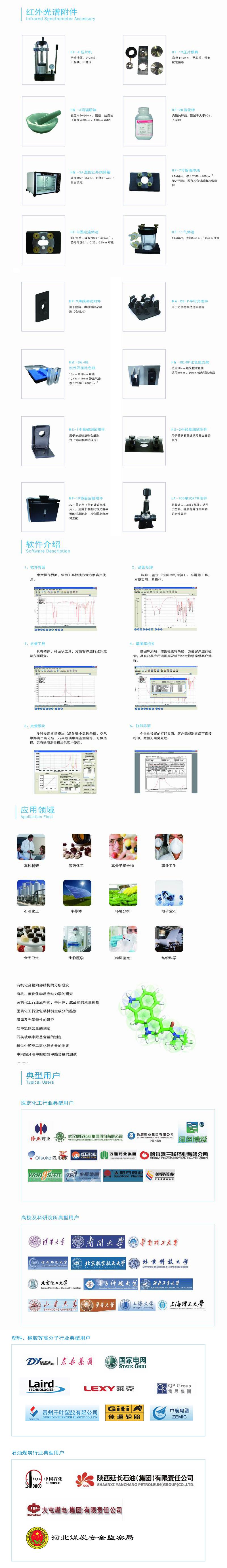 FTIR-650傅里叶变换红外光谱仪附件