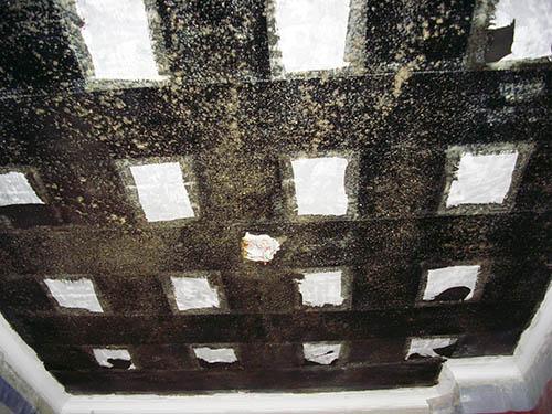金地格林小区板底贴碳纤维布