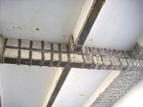 梁底包钢加固施工