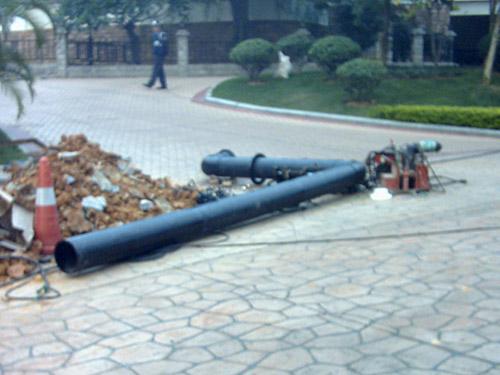 PE水管安装工程
