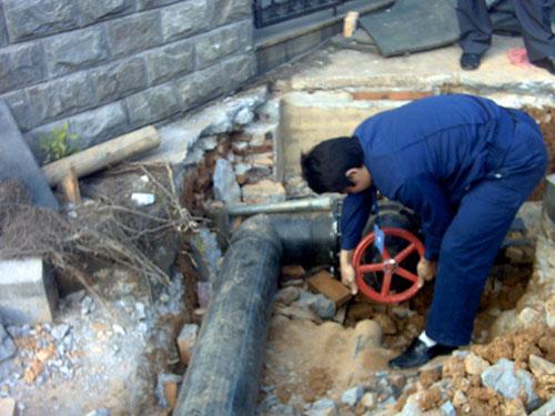 东莞市大朗碧水天源水管安装工程