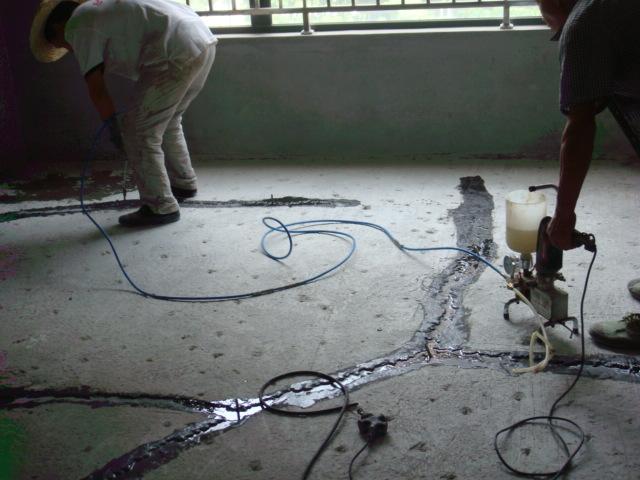裂缝加固注环氧树脂(金地集团防水补漏加固工程)