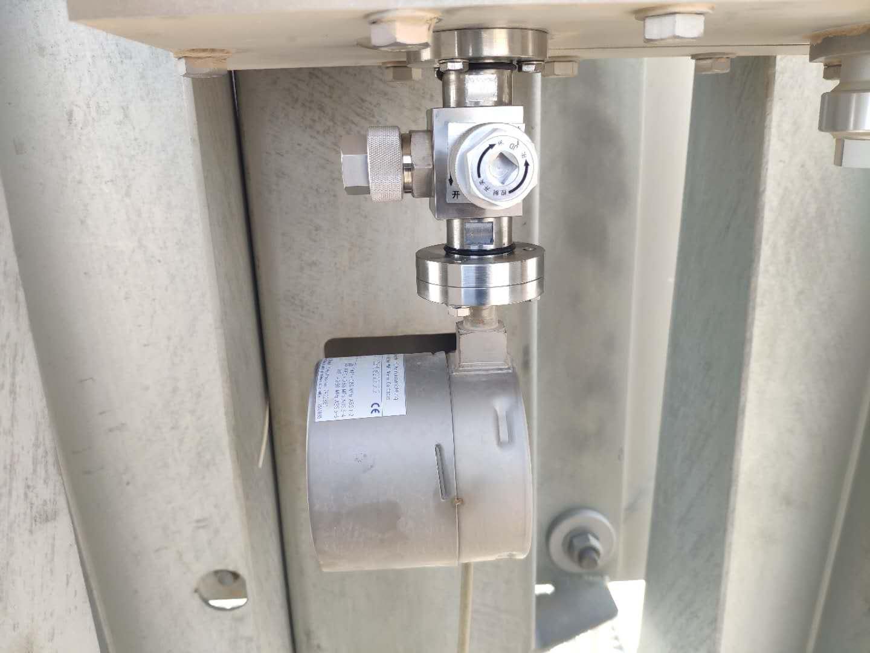 国投哈密电厂500kV升压站SF6密度继电器在线校验三通阀项目