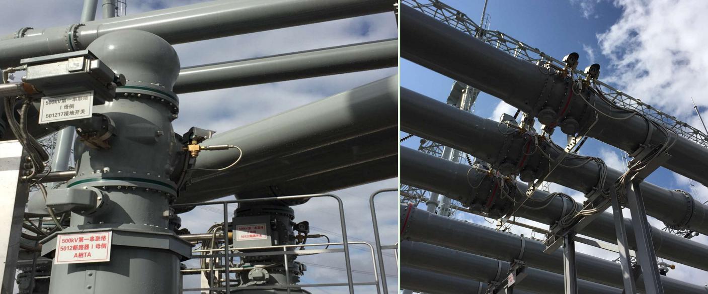 六氟化硫密度微水在线监测装置