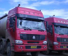 散装化工运输车辆