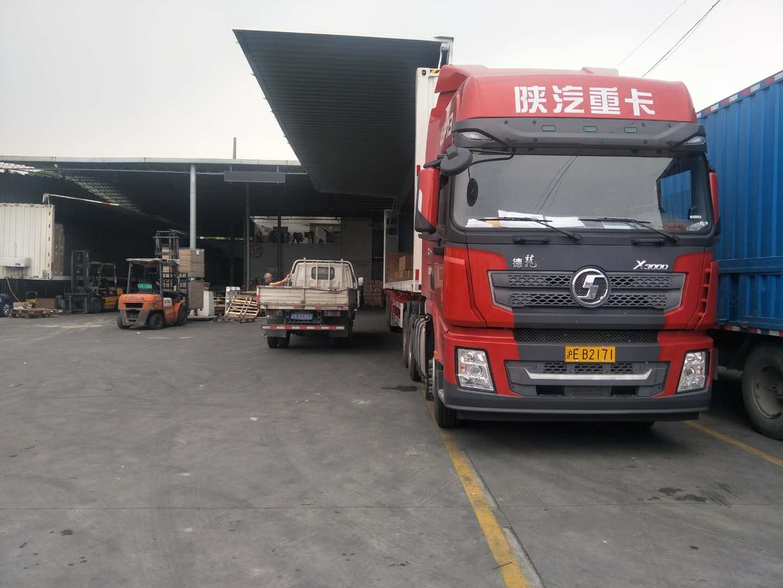 上海到贵州零担整车运输车辆展示