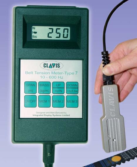 Clavis皮带张力仪TYPE7按键