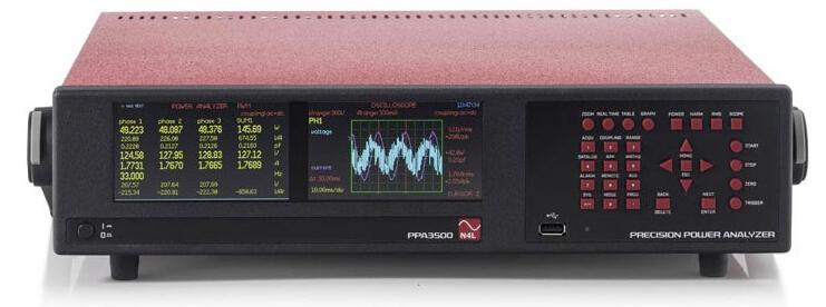 N4L PPA3500高性能6相功率分析