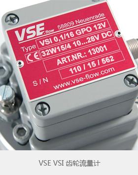 VSE齿轮流量计VSI系列带前置放大器