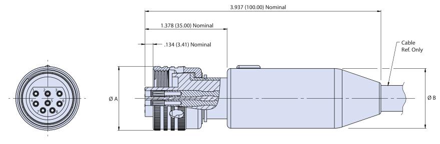 Glenair高压干式海底电缆连接器G55 01系列