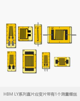 HBM LY系列直片应变片带有1个测量栅丝?