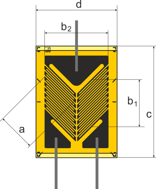 HBM剪切片XY2带引线和公共连接