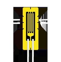 HBM 预制导线 KFU 高温应变片直片