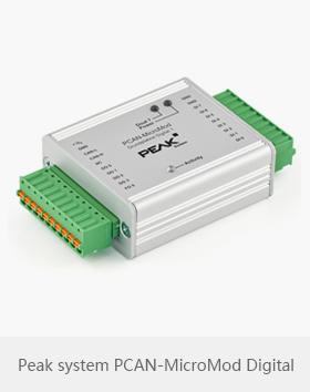 Peak system PCAN-MicroMod Digital模块