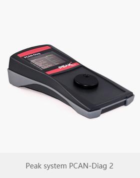 Peak system PCAN-Diag 2 手持式CAN总线诊断仪
