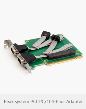 Peak system PCI-PC/104-Plus-Adapter