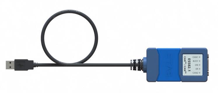 ETAS ES582.1模块 USB CAN FD 总线接口模块