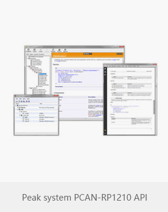 Peak system PCAN-RP1210 API
