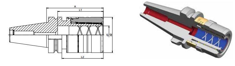 Diebold UltraGrip® BT DIN ISO 7388-2