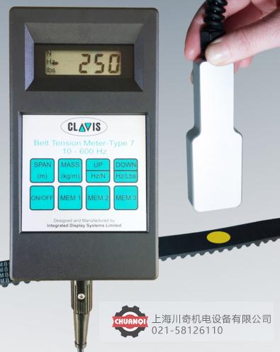 英国CLAVIS皮带张力仪