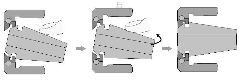 德国Diebold CentroGrip™筒夹刀柄操作说明-安装步骤