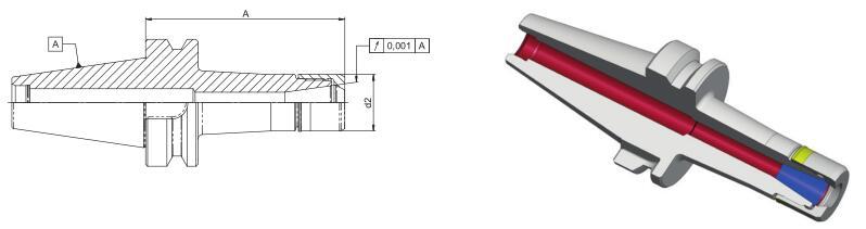 德国Diebold CentroGrip™ 高精度筒夹刀柄D-BT30 /D-BT40
