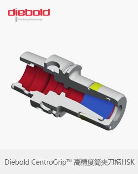 德国Diebold CentroGrip™ HSK-A高精度筒夹刀柄HSK32/40/50/63A弹簧筒夹刀柄
