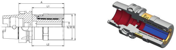 德国Diebold UltraGrip? 3.0 HSK-A超强力刀柄