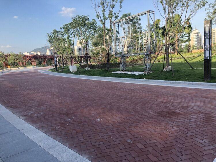 笋江公园施工案例