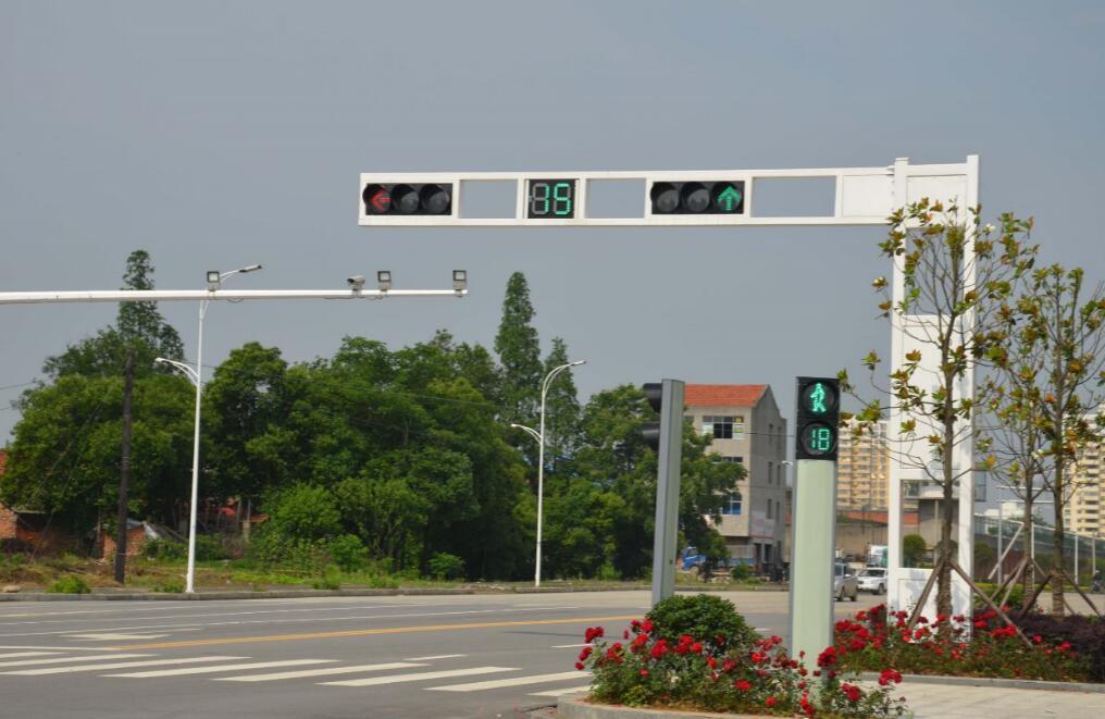 博阳补光灯助人脸识别系统上岗,交通秩序改善明显