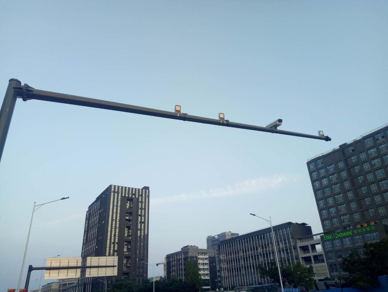 博阳频闪补光灯中标安微肥东县电子警察项目
