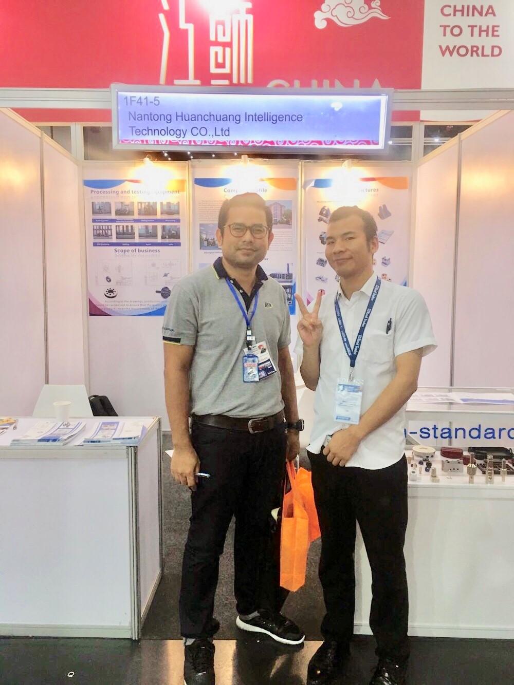 泰國國際機械制造展會現場