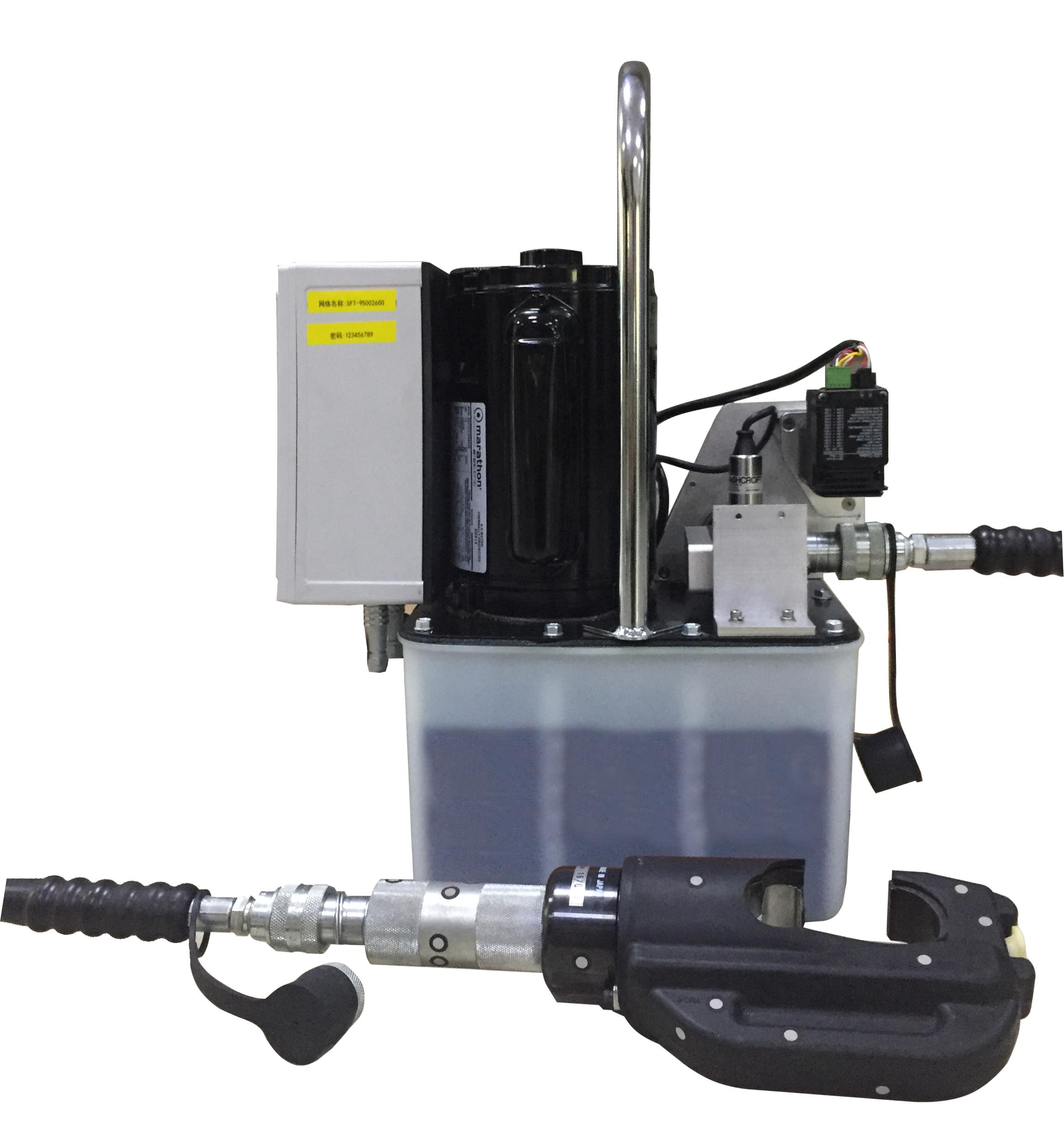 台式智能液压钳_电动智能液压钳KJ-MP05