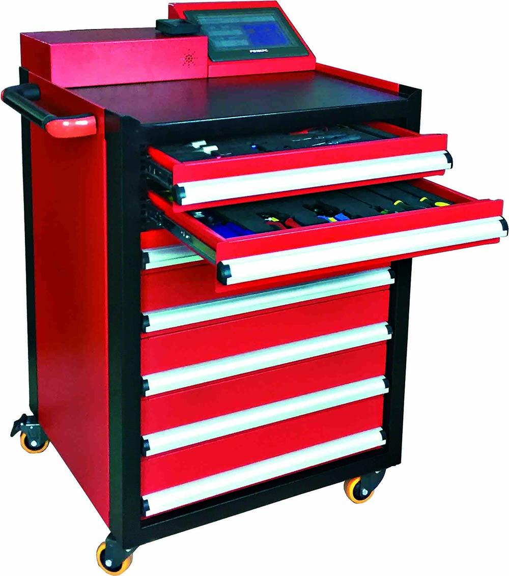 RFID智能工具柜_智能工具车_智能工具箱