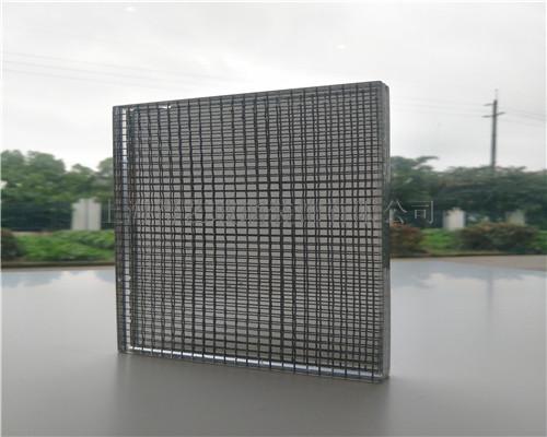 金属网夹胶玻璃