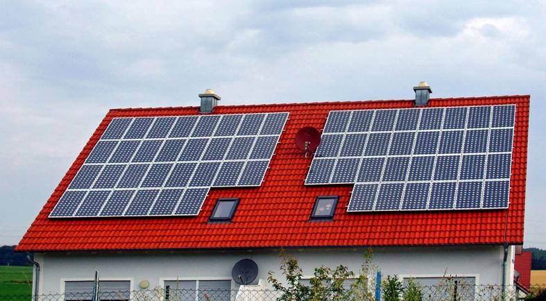 家庭分布式屋頂發電系統
