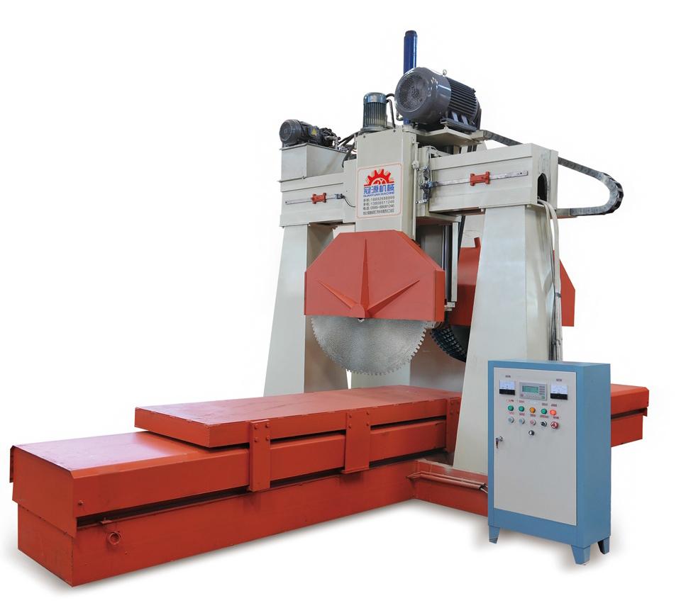 石材切割机的工作原理与特点和优点