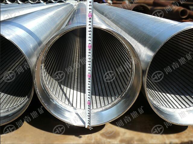 梯形丝滤水管