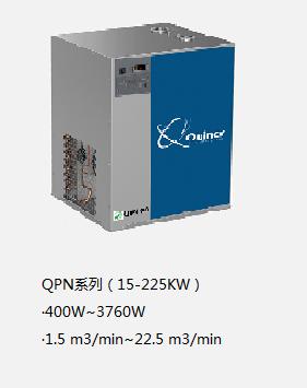 昆西冷干機QPN系列(15-225KW)