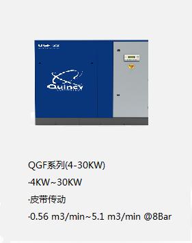 昆西空壓機QGF系列(4-30KW)