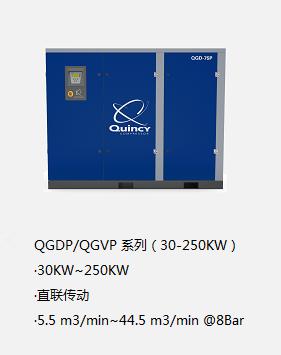 昆西變頻空壓機QGVP 系列(30-250KW)