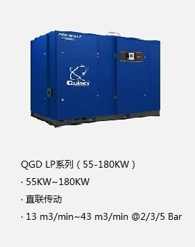 昆西鼓風機QGD LP系列低壓空壓機(55-180KW)