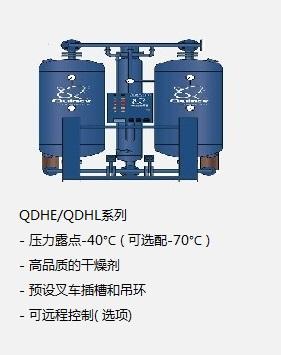 昆西無熱微熱吸干機QDHE/QDHL系列