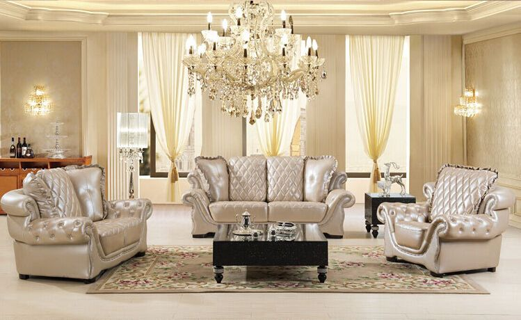 酒店大厅皮质沙发-单人双人三人