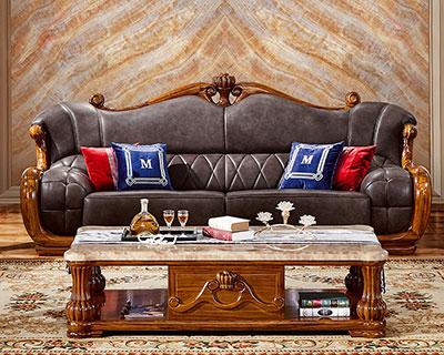 五星级酒店实木沙发
