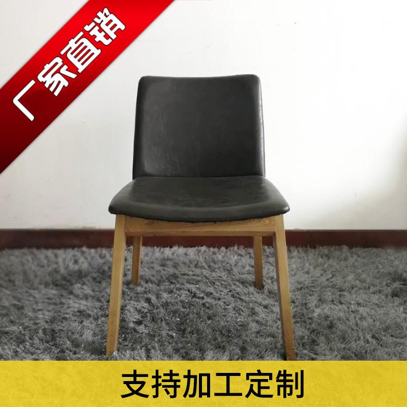 纯实木餐椅时尚设计水曲柳白蜡木餐椅