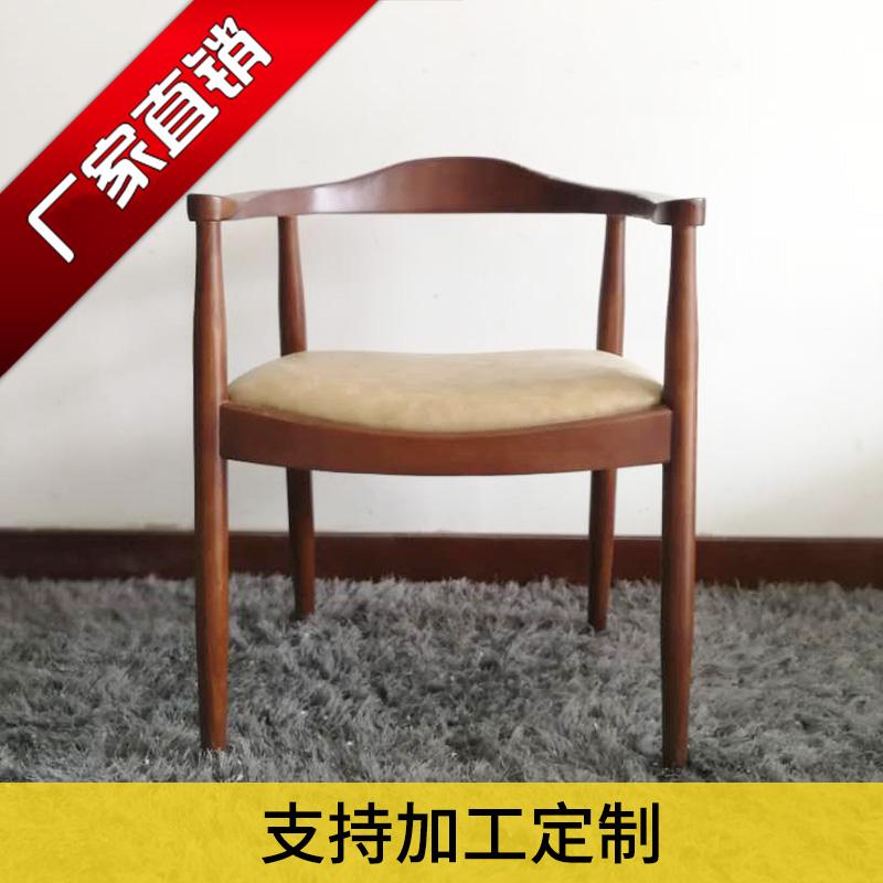 纯实木餐椅时尚布艺设计水曲柳白蜡木休闲椅