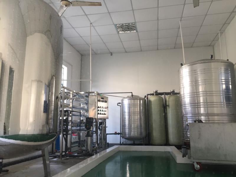 亚游环保生产车间及实验室