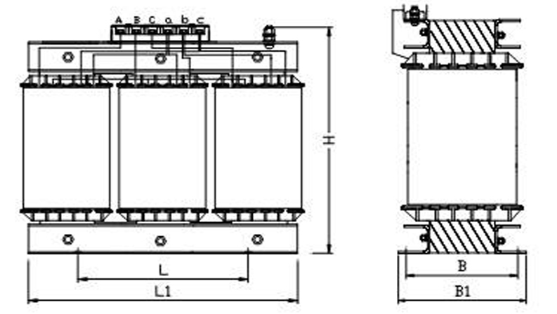 SBKSG三相干式隔离变压器